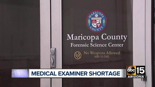Maricopa County in need of medical examiners