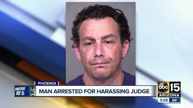 Man accused of harassing Maricopa County judge