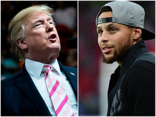Trump disinvites Steph Curry from White House