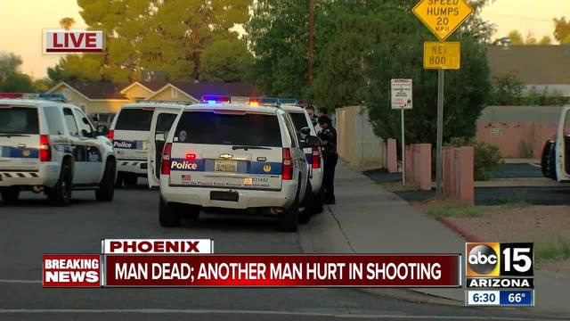 Investigation underway after man shot and killed near 15th Avenue and Osborn