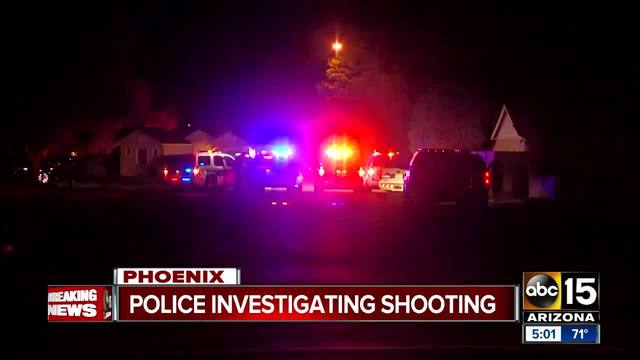 Police investigating shooting near 15th Avenue and Osborn Road