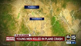 YCSO: 2 teens die in Prescott plane crash