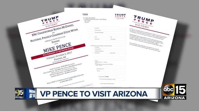 VP Mike Pence set to visit Huntsville Monday