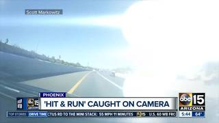 VIDEO: Hit-and-run crash caught on camera in PHX
