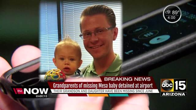 Mesa police detain parents of missing woman and her baby boy
