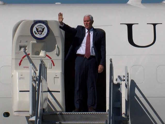 Vice President Mike Pence Visits Phoenix To Talk Tax Reform