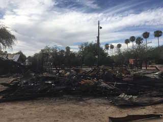Glendale investigating fires at Sahuaro Ranch