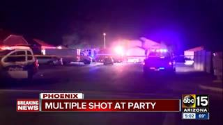 Police: Four shot at party in west Phoenix
