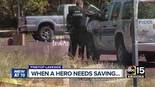 Man uses belt to help Pinetop cop in shooting