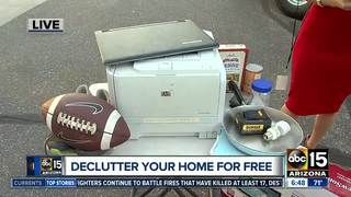 De-clutter! FREE recycling festival on Saturday