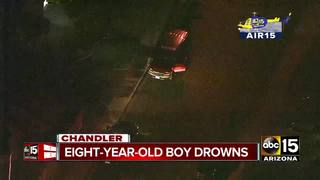 FD: 8-year-old dead after drowning in Chandler