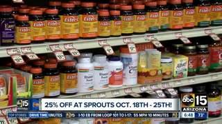 Vitamin Extravaganza! MAJOR discount at Sprouts!
