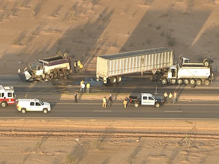 San Tan Valley road reopens after serious crash