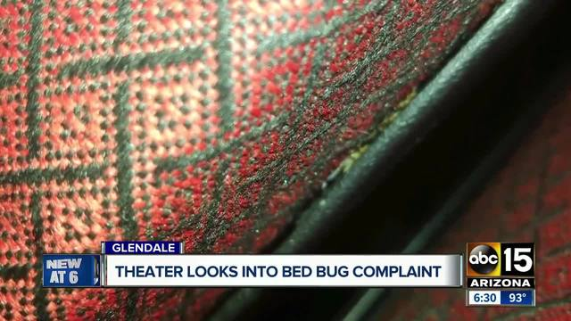 AMC theater looking into bed bug complaint