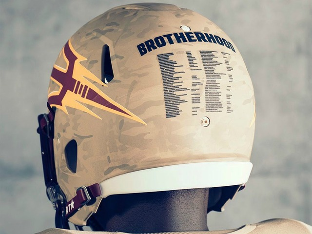 Arizona State unveils uniform honoring Pat Tillman