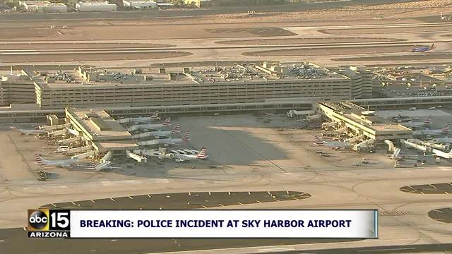 Police investigating suspicious item at Sky Harbor Airport