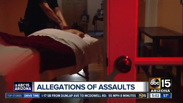 Hundreds of USA massage therapists accused of sexual assault