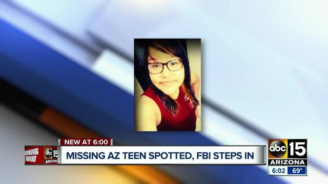 FBI searching for missing Navajo Reservation teen