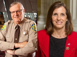 POLL: Arpaio, McSally lead GOP race for Senate
