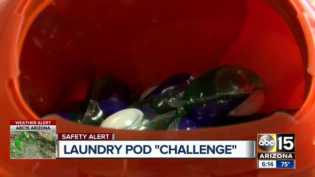 The Tide Pod Challenge has people eating laundry detergent pods for fun