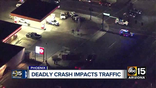Deadly Car Accident In Phoenix On May
