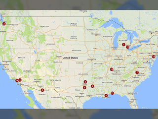 MAP: 14 U.S. school shootings so far in 2018