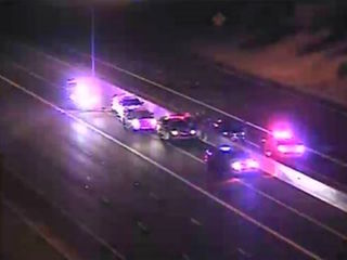 VIDEO: Wrong-way driver stopped on Loop 101