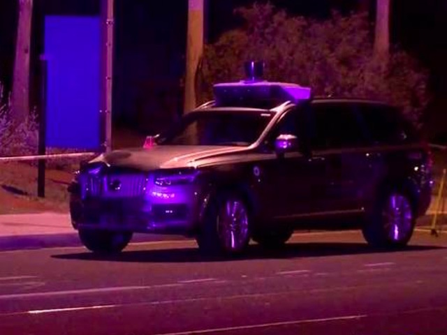 Uber self-driving car saw person, didn't brake