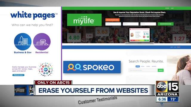 How to erase yourself from search engines
