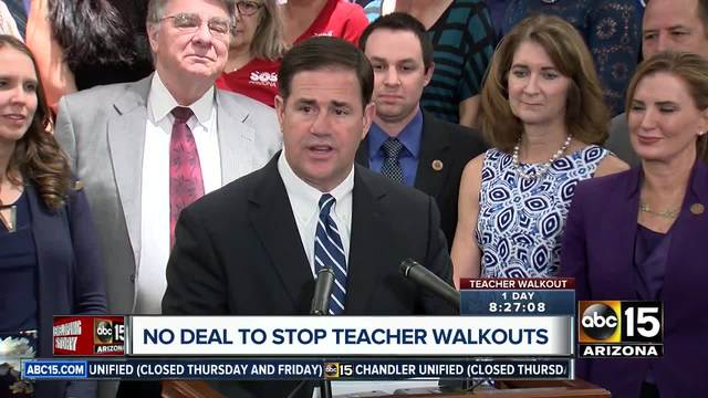 Arizona opening day cares to get ready for teacher strike