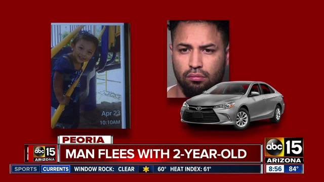 Amber Alert issued for toddler girl taken from Peoria home