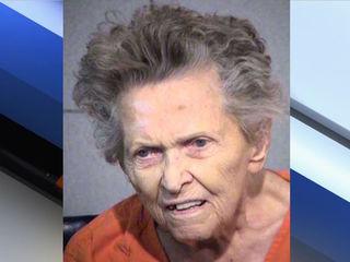 Woman, 92, accused of killing son enters plea