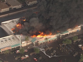 Phoenix Safeway won't be rebuilt following fire