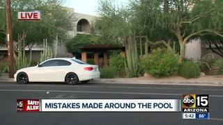 Man found dead in pool at Phoenix apartment
