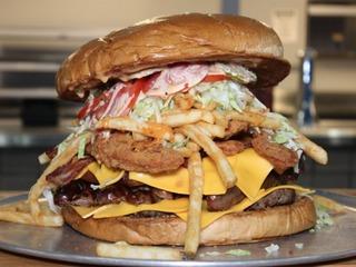 Arizona Cardinals selling a $75 burger