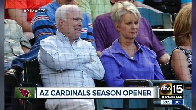 Cindy McCain to be honorary captain at Arizona Cardinals season opener