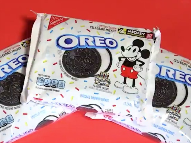 Birthday Cake Flavored Oreos Are Coming In Honor Of Mickey Mouses