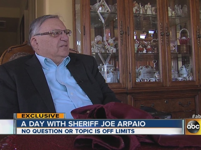 A day in the life of Maricopa County Sheriff Joe Arpaio