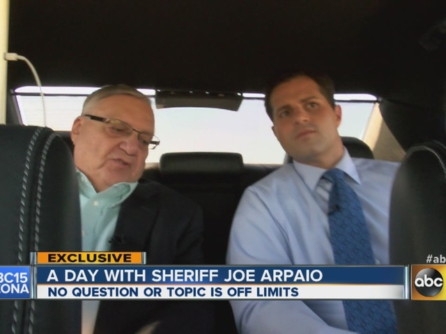 Sheriff Joe Arpaio interview Part III