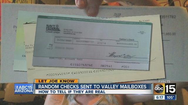 Scam alert: Fraudsters continue to send false checks to ...