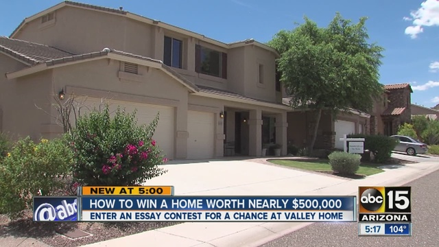 phoenix real estate investor holds essay contest for home worth  phoenix real estate investor holds essay contest for home worth nearly 500 000