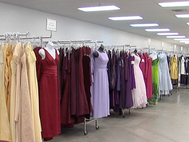 Tuxedos for $75 and wedding dresses for less than $30 at Bridal ...