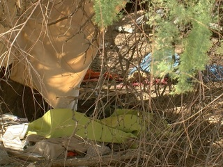 Volunteers counting homeless population in Tempe