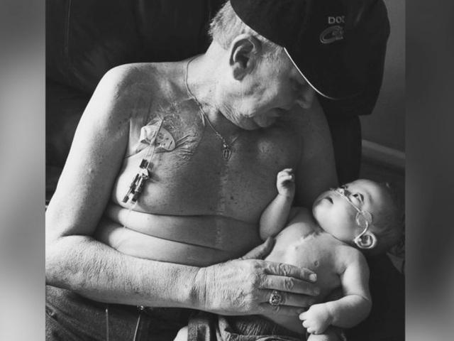 Αποτέλεσμα εικόνας για grandpa and baby