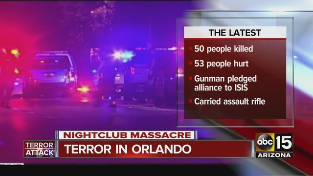 the acts of terrorism in the orlando night club shooting on june 12 2016 President barack obama called the attack an act of terror and hate orlando club shooting witness: june 12, 2016 and we have to.