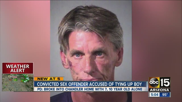 PD: Dad scares away sex offender, George Tracy Vann, who tied up boy ...