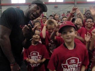Siblings have a blast at Patrick Peterson's camp