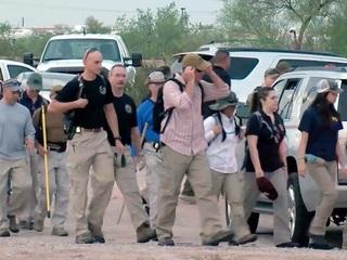 Crews search desert for missing Buckeye boy