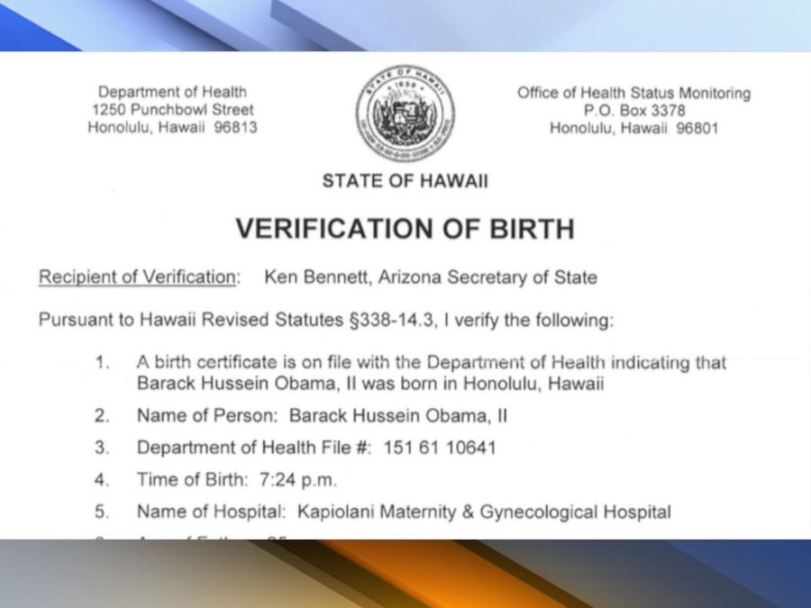 Former Arizona Secretary Of State Ken Bennett Received Proof Of
