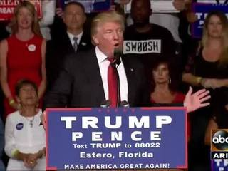 Trump: Clinton harsher to supporters